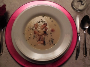 Velvety Cauliflower Soup