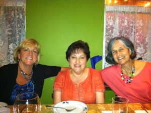 Lynn Holl, Teresa Hagan and MariaOdilia Romeu at KooZeeDoo.