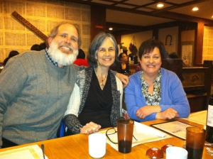 Steve Olgham, Maria Odilia Romeu and Teresa Hagan
