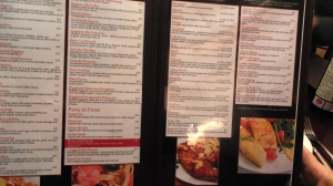 A peak at just a portion of their extensive menu.