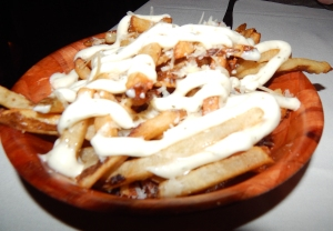 """BHT"" truffle fries"