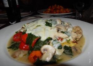 chicken.spinach.mushrooms