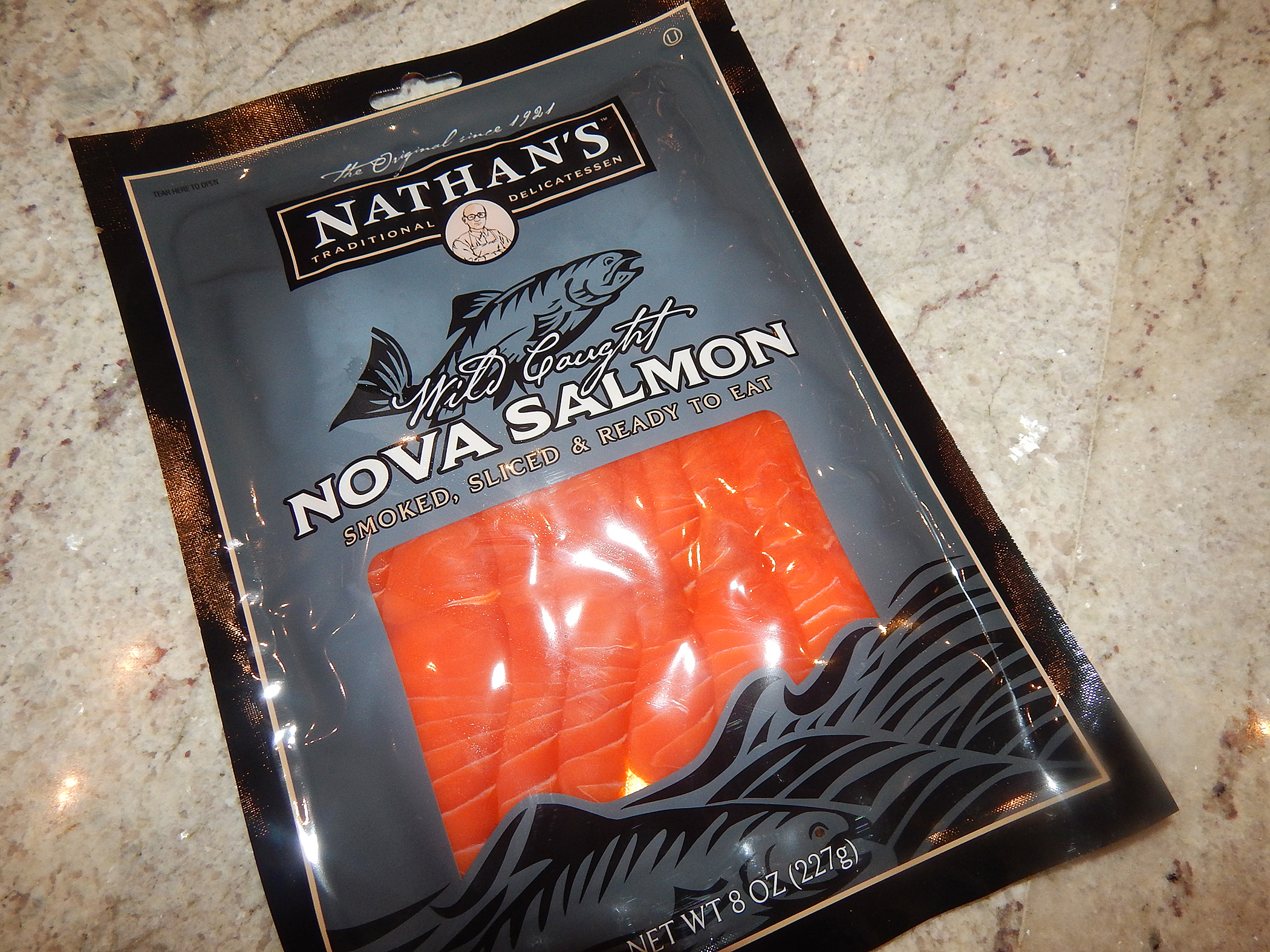 Salmon Package Packaged Salmon