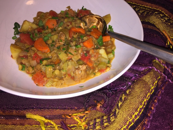 spanish padrina lentil stew extra