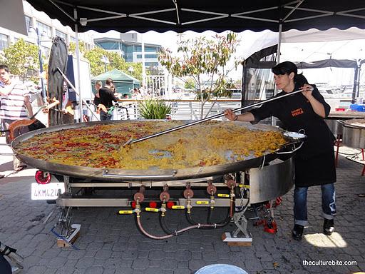 Eat Real Fest Girards Paella Pan